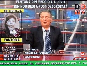 DDTV: Fantoma din Medgidia