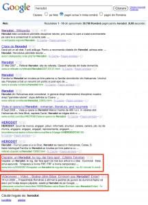 Herodot pe Google.ro
