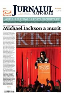 Jurnalul national - Michael Jackson