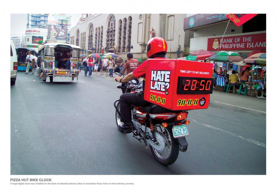 Second Hand Fast Food Motorbike