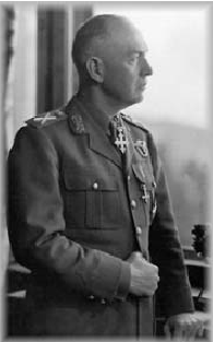 Romanian General and dictator Ion Antonescu