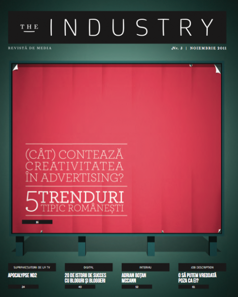The industry, coperta de la nr. 3