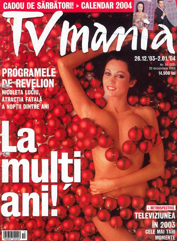 Nicoleta Luciu, TV mania, decembrie 2003