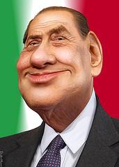 Silvio Berlusconi - Caricature