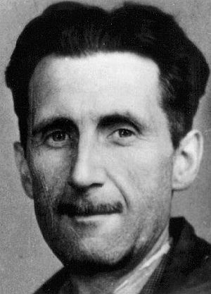 Picture of George Orwell which appears in an o...