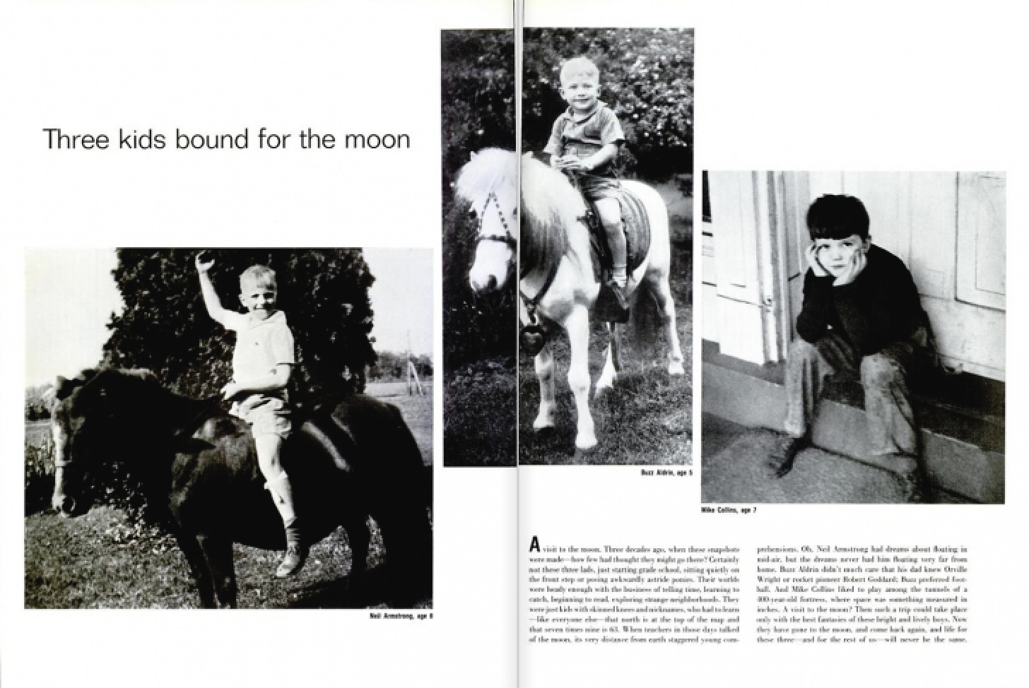 Armstrong, Aldrin, Collins - Life, 11 august 1969