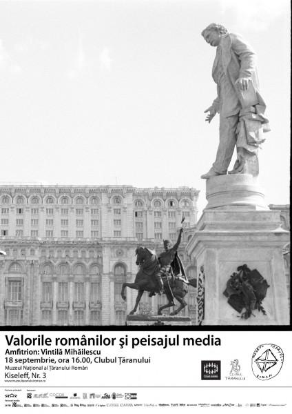 Valorile românilor şi peisajul media