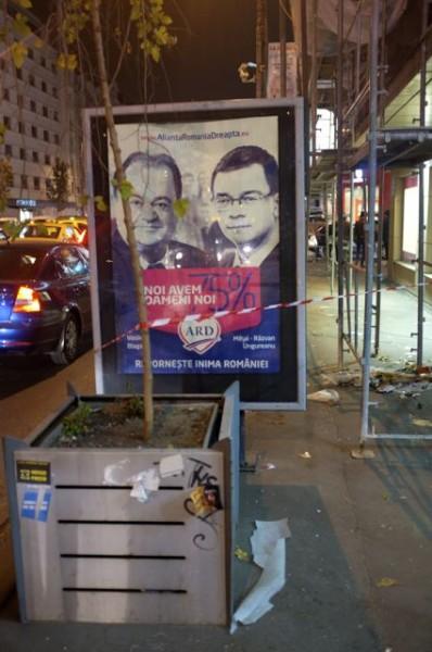 Blaga și Ungureanu, 75% noi, pe Magheru