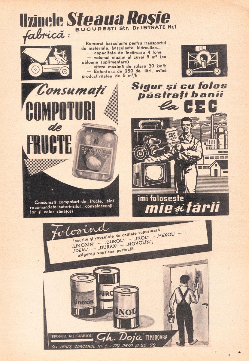 Almanahul Știință și Tehnică, 1961