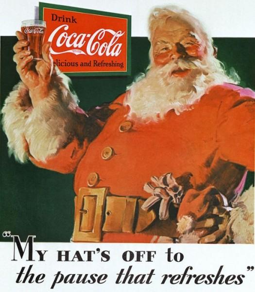Moș Crăciun Coca-Cola din 1931
