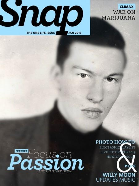 Copertă Snap Magazine