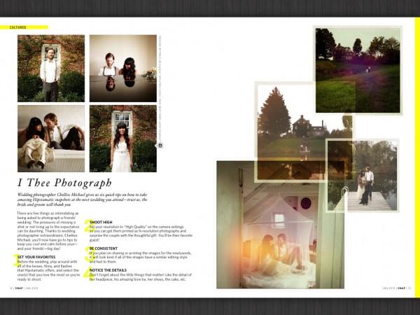 Fotografie de nuntă. Pe bune. Ce poți face în pagină cu câteva snapshoturi