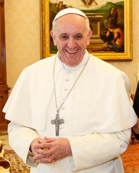 Papa Francisc, pe 20 martie. Sursa imaginii: Wikipedia