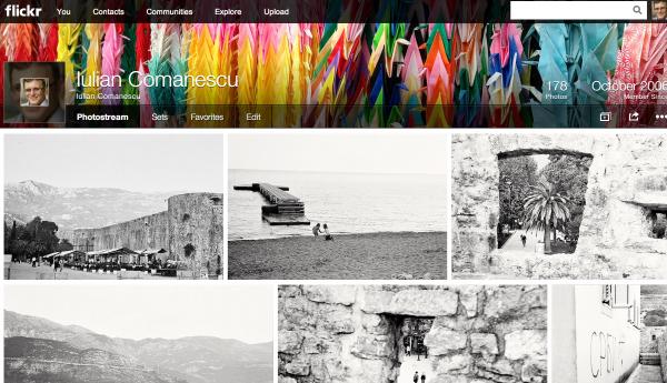 Flickr, așa cum se vede de luni încoace