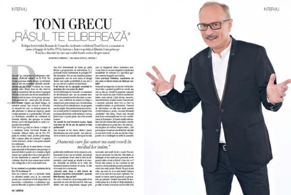Interviu cu Toni Grecu