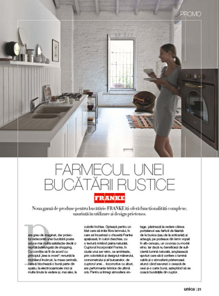 Advertorial Franke