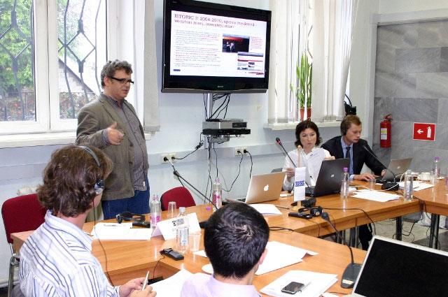 Sept. 2009: Workshop, OSCE, Chișinău