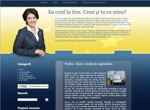 Blog: Valean.eu (2007)