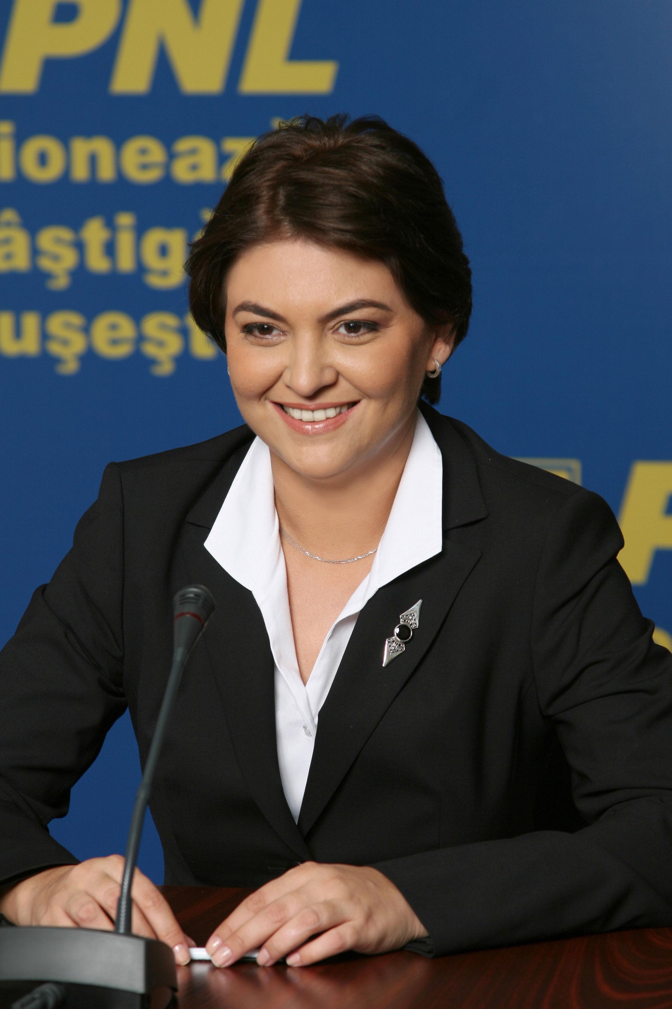 Photography: Adina Vălean (PNL, 2007)