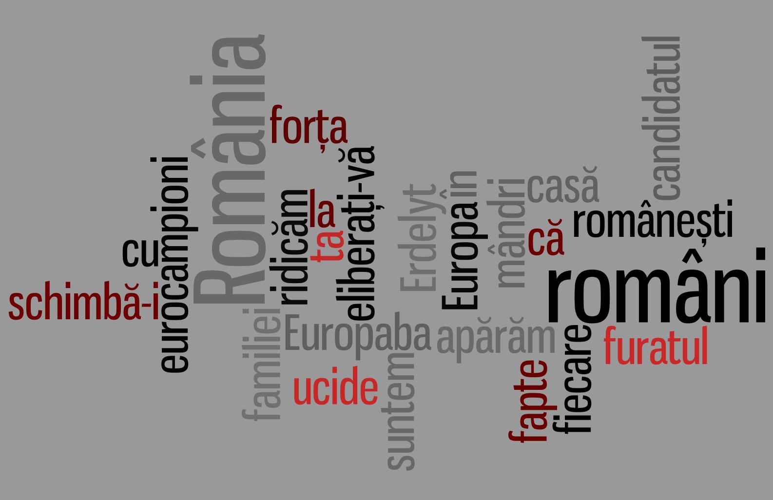 Cuvintele din sloganuri