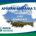 """PNȚCD: """"Apărăm România ta"""""""