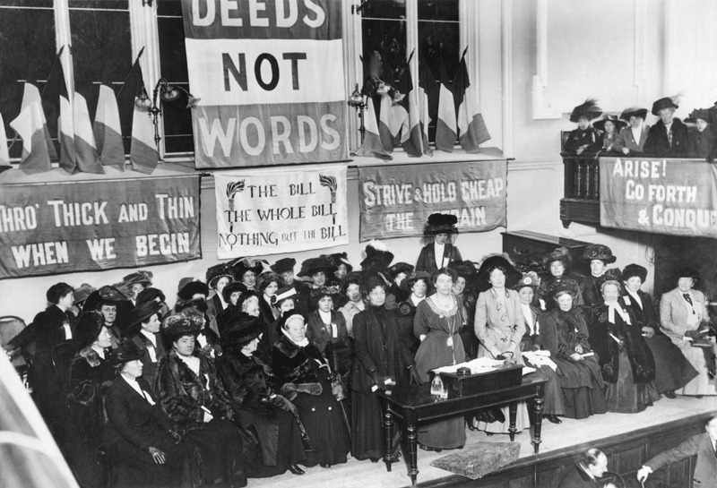 Sufragete în Anglia, 1908