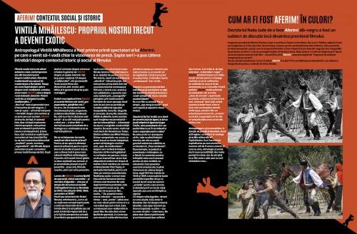 Cover Story #871 (2). Story: Ana-Maria Caia. Art director: Iulian Comanescu
