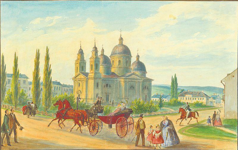Franz Xavier Knapp: Catedrala ortodoxă din Cernăuți, 1867