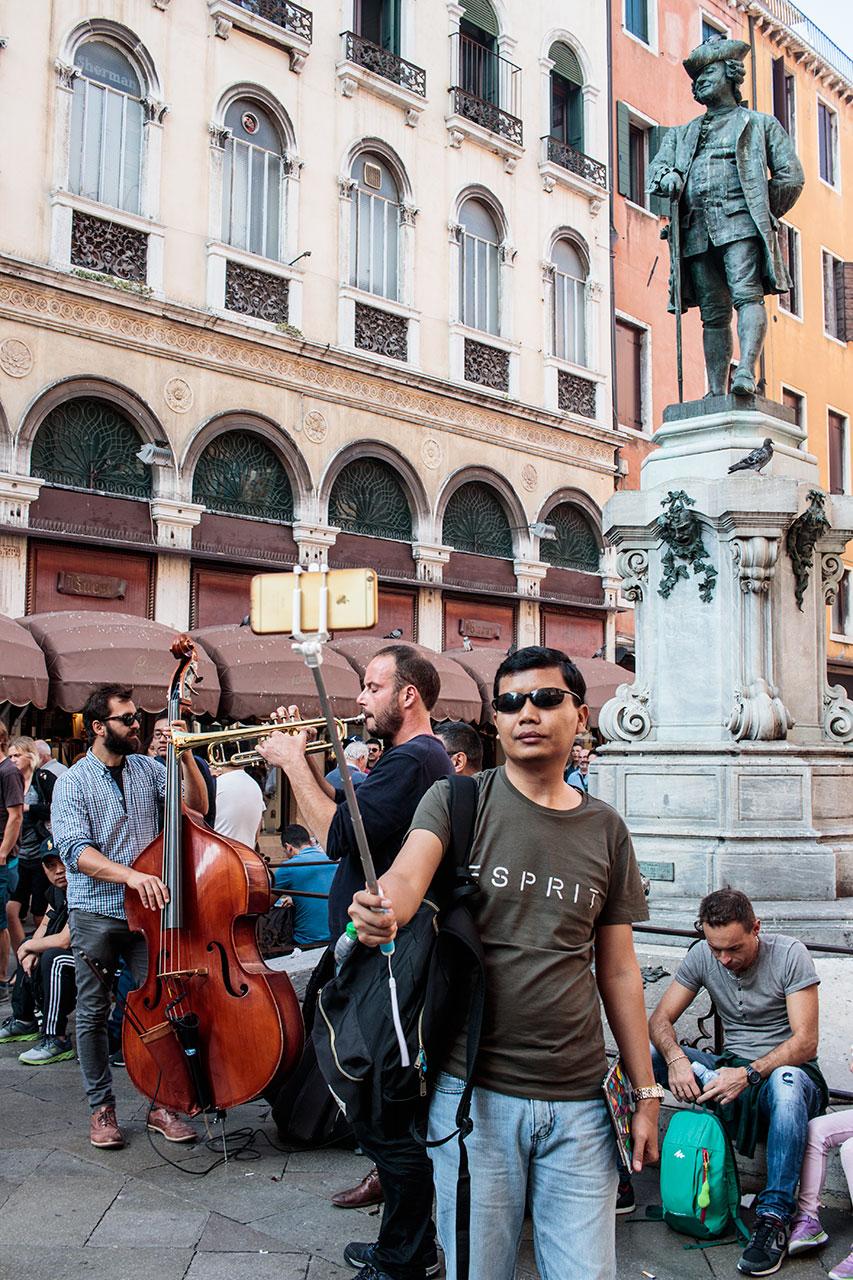 Selfie in Venice