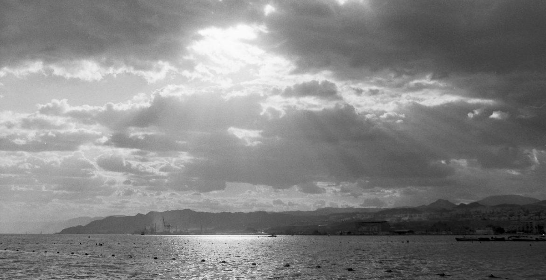 Eilat Sun & Clouds